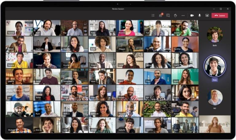 Particpants Microsoft Teams